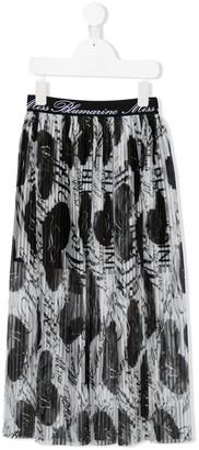 Miss Blumarine Pleated Skirt