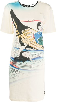 Kenzo Ama printed T-shirt dress