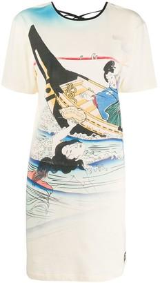 Kenzo Ama printed T-shirt dress
