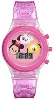 Disney Disney's Tsum Tsum Kids' Digital Light-Up Watch