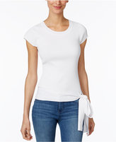 INC International Concepts Petite Tie-Hem Sweater, Only at Macy's
