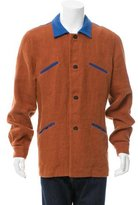 Loewe Colorblock Linen Jacket