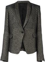 Haider Ackermann jacquard blazer - women - Acrylic/Polyamide/Polyester/Cotton - 38