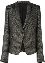 Haider Ackermann jacquard blazer - women - Cotton/Acrylic/Polyamide/Virgin Wool - 38