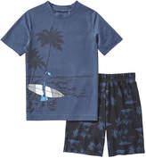 Joe Fresh Kid Boys' Graphic Sleep Set, Indigo (Size S)