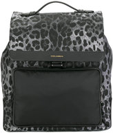Dolce & Gabbana square backpack - men - Leather/Polyester - One Size