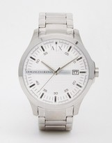 Armani Exchange Watch In Stainless Steel AX2177