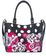 Desigual Saintropez Flower Shoulder Bag