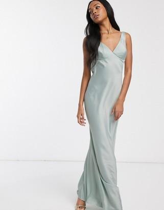 Pretty Lavish maxi dress in satin