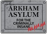 Batman Arkham Asylum Small Tin Sign