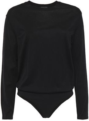 ATM Anthony Thomas Melillo Pima Cotton-jersey Bodysuit