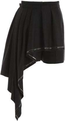 Alexander McQueen Wool Flannel Shorts