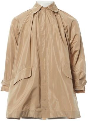 Ralph Lauren Beige Silk Coat for Women