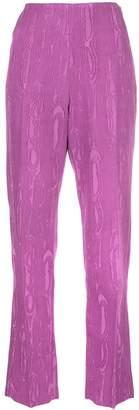 Rachel Comey moiré straight-leg trousers