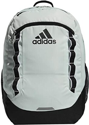 adidas Excel V Backpack (Jersey White/Black) Backpack Bags