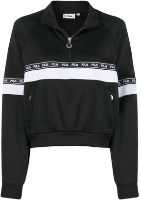 Fila logo print sweatshirt