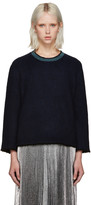 3.1 Phillip Lim Navy Snap Cardigan