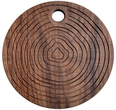 Walnut Round Reversible Trivet/Cutting/Serving Board