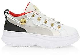 Balmain PUMA x Women's Puma x Deva Leather Sneakers
