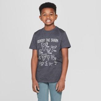 Cat & Jack Boys' Shark Teeth Short Sleeve Graphic T-Shirt - Cat & JackTM