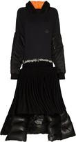 Duran Lantink reconstructed hoodie midi dress