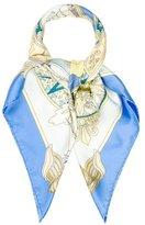 Hermes L'Air Marin Silk Scarf