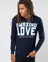 Love Moschino Amazing Logo Jumper