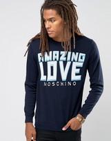Love Moschino Amazing Logo Sweater