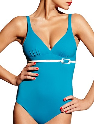 Chantelle Monaco Swimsuit Blue Aqua S (10)