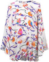 Emilio Pucci floral print oversize tunic - women - Silk - 38