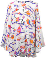 Emilio Pucci floral print oversize tunic - women - Silk - 40