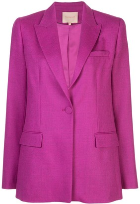 Roksanda One-Button Blazer