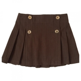Burberry Brown Cotton Skirt