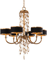 John-Richard Collection Black Tie 6-Light Chandelier