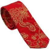 Coachella Ties Cotton Florals Necktie Skinny Tie 6cm