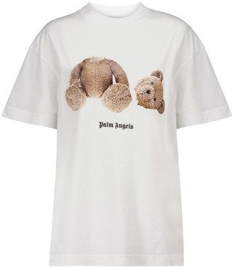 Palm Angels Logo cotton jersey T-shirt
