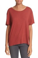 Enza Costa Oversize Pima Cotton Tee
