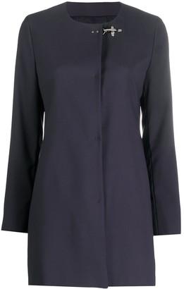 Fay Hook Detail Coat