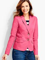 Talbots Back Lace-Up Jacket