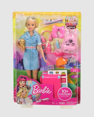 Barbie Girl's Pink Accessories - Travel Lead Doll - Size One Size at The Iconic