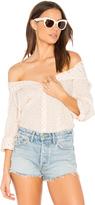 Sundry Color Dots Oversized Shirt
