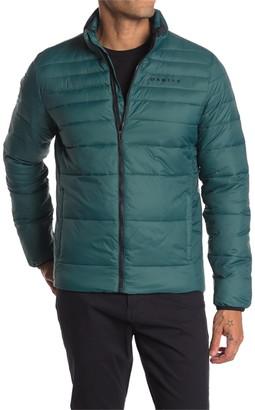 Oakley Mock Neck Zip Puffer Jacket