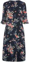 Oasis Kimono Sleeved Midi Dress