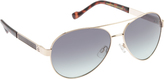 Jessica Simpson Women's J5258 Metal Aviator Sunglasses