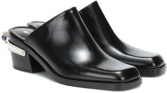 Nodaleto Bulla Western leather mules