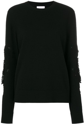 Barrie Romantic Timeless cashmere round neck pullover