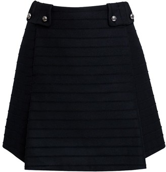 Rumour London Heidi Wool & Cashmere Mini Skirt