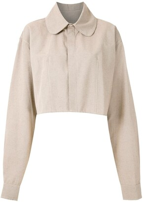 ALUF Cedro cropped shirt
