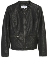 Cupcakes And Cashmere Women's Dolly Faux Leather Jacket