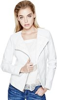 GUESS Callie Lace Faux-Leather Jacket